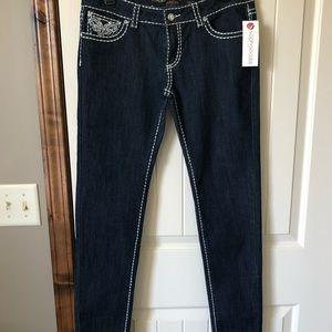 NWT-Dark denim jeans